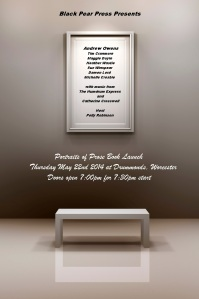 Portraits of Prose - Event Poster